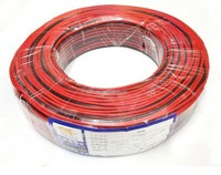 2 Pins Copper Cable Wire Extension for LED excellent quality 100m RVB 2*0.3mm Power Cable for CCTV installation