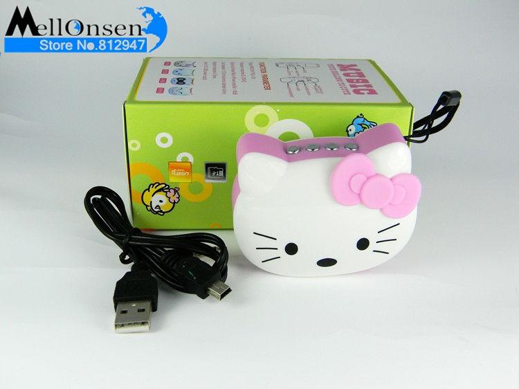 Portable Mini Speaker TF card U disk music player FM cat shape audio speaker - Shenzhen Mellonsen Electronic co.,ltd store