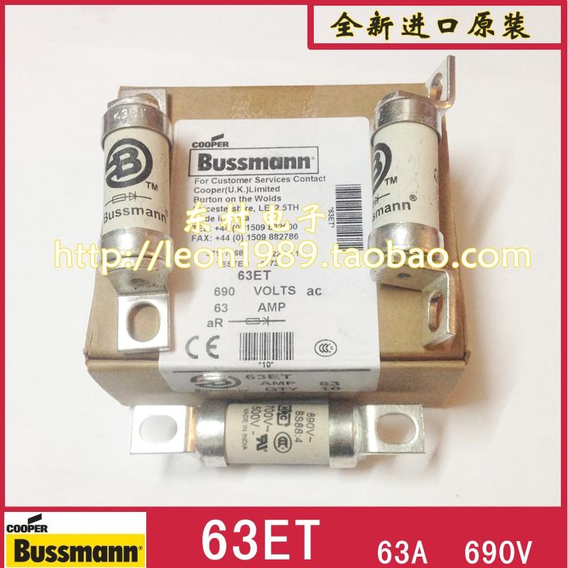 US BUSSMANN fuse BS88: 4 fuse 45ET 45A 63ET 63A 690V<br><br>Aliexpress