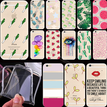 """Painting Delicious Pineapple Silicon Phone Cases Cover For Apple iPhone 6 iPhone 6S iPhone6S iPhone6 4.7"""" Case Cases SDK KDD ST"""