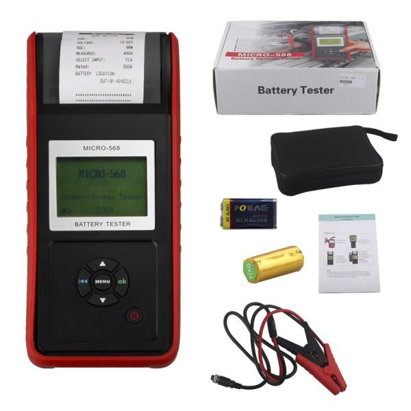 Augocom MICRO-568 тестер проводимости и электрическая система анализатор с ( один год гарантии )
