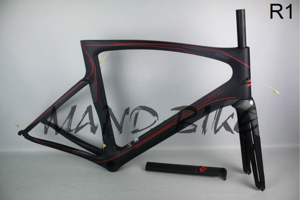 2016 MANDBIKE hot sale R1 carbon road frame full carbon fiber carbon bike frame road bike frame bicycle PF30 for free shipping(China (Mainland))