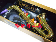 Child musical instrument saxe saxophone toy  music toy puzzle  FREE shipping(China (Mainland))