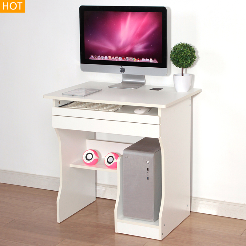 1PC Computer PC Laptop Table with drawer Office Workstation Computer Table Corner Home Study Office Furniture(China (Mainland))