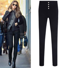 New Spring S-5XL Fashion Leggings 2015 High Waist Big Size Candy Color Pants Pencil Trousers Good Look Women Elastic Pants 825(China (Mainland))