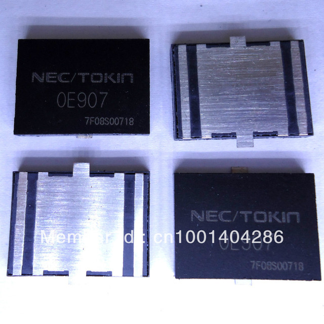 10pcs OE907 0E907   TOKIN Farah capacitor solve a common problem power failure for TOSHIBA laptop,notebook