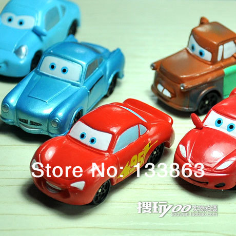NEW 6 PCS per set little car  Figures christmas gift, new year gift, children toys for kids, birthday gifts, free shipping(China (Mainland))