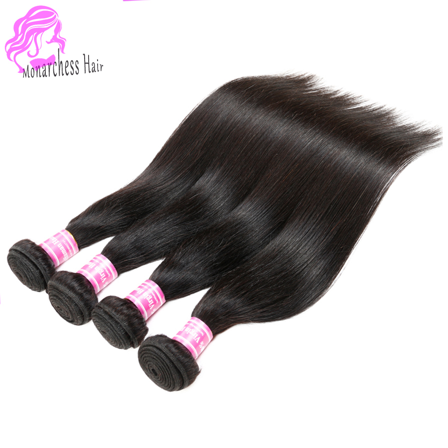 Fastyle Hair Virgin Brazilian Straight Weave 4Pcs Human Hair Weaves Brazilian Virgin Hair Straight Cheap Human Hair 100g Bundles