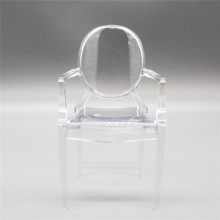 Clear Plastic Chair Desk 1 6 Dollhouse Miniature Furniture For Re Ment Orcara