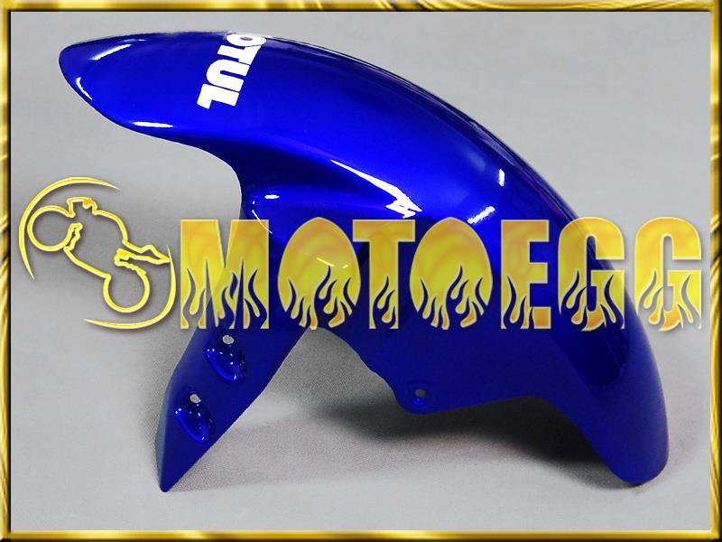 Motoegg Injection Mold Fairings For YZF-R1 2002-2003 02 03 FIAT Blue White #M11   Motorcycle plastic