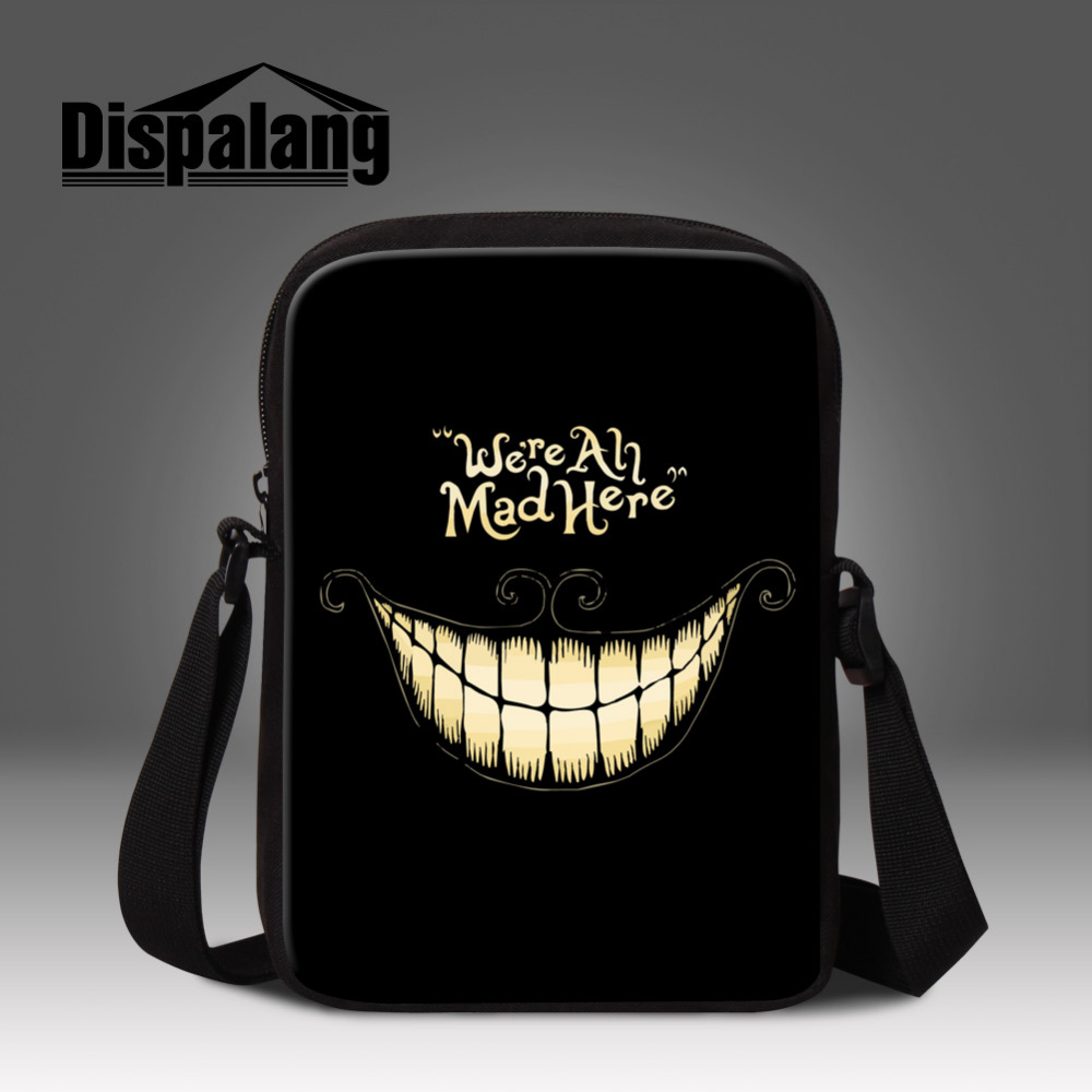 2016 Cool Skull Pattern Kids Messenger Bag For Men Mini School Bag For Kindergarten Boys Crossbody Bag Casual Outdoor Travel Bag(China (Mainland))