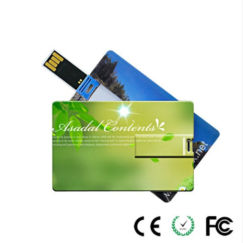 DIY LOGO China manufacturer business card usb 2.0 flash drive 4gb 8gb 16gb 32gb (30 pcs free logo fee)(China (Mainland))