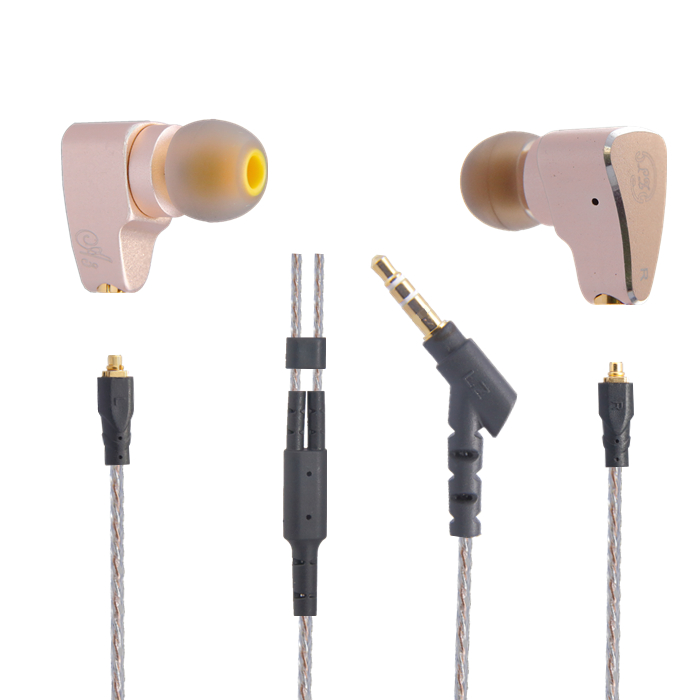 2016 New Original LZ A3 In Ear Earphone Dynamic And 2 BA Hybrid 3 Unit HIFI DIY Earphone With MMCX Interface Cable Kill K3003(China (Mainland))