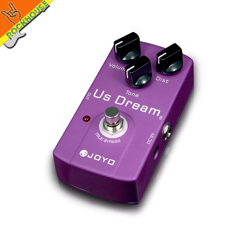 JOYO high-gain Distortion guitar effect pedal American distortion copy Shur Riot Reloaded true bypass