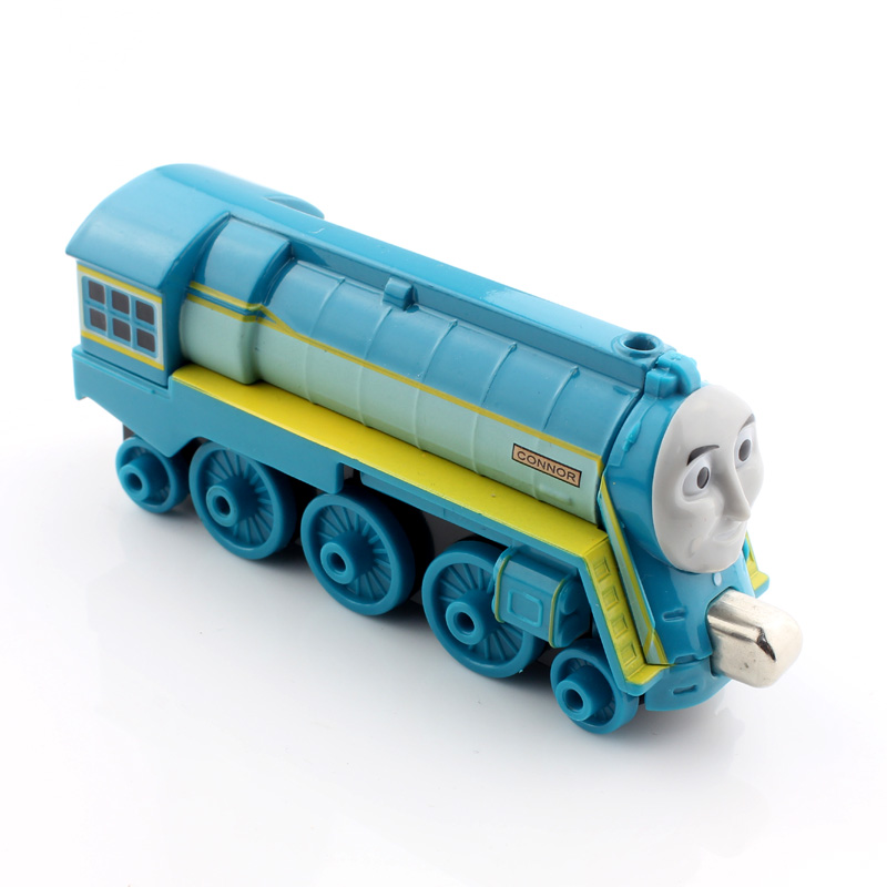 Connor new arrival kids thomas and friends trains magnetic the tank engine education Diecast metal models splicing rail gift toy(China (Mainland))