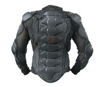 Racing men Motorcycle Body Armor Spine Chest Protective Jackets Gear Full body prootector black Size M L XL XXL XXXL(China (Mainland))