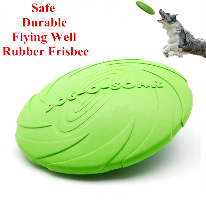 5 PCS Eco-friendly Pet Product Natural Rubber Material Pet Dog Toy Frisbee Dog Training(China (Mainland))
