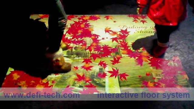 DEFI INTERACTIVE FLOOR / WALL SOFTWARE AND HARDWARE WITH 188 EFFECTS(China (Mainland))