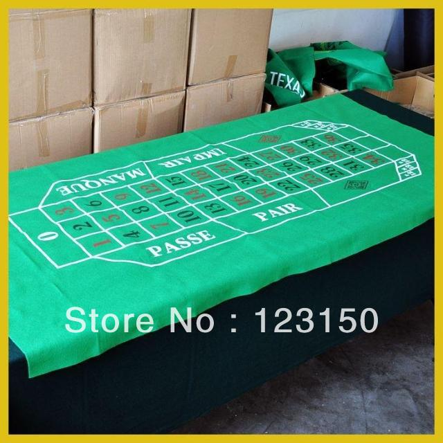 ZB-003 Non-woven fabric Texas Holdem Table Cloth, New Design Roulette Layout(China (Mainland))