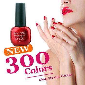 Gel Len 1pcs Cheap UV Soak Off Nail Gel Polish Long Lasting Led Gel Varnish DIY Nail Art Salon Gel Nail Varnish
