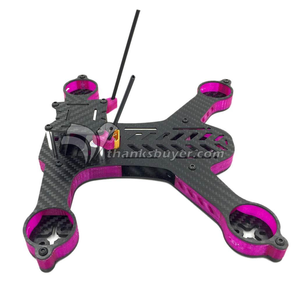 GE-FPV SIGAN 210mm 4 Axis Carbon Fiber Mini Racing Quadcopter Frame Drone for FPV