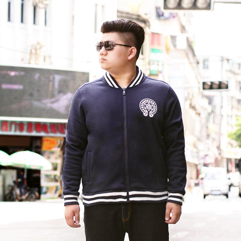 Men Sweatshirt Sports Plus Size 5XL 6XL Hip Hop Hoodie Cotton Printing Pattern Ribbing Collar Gym Clothing Bowling Jackets