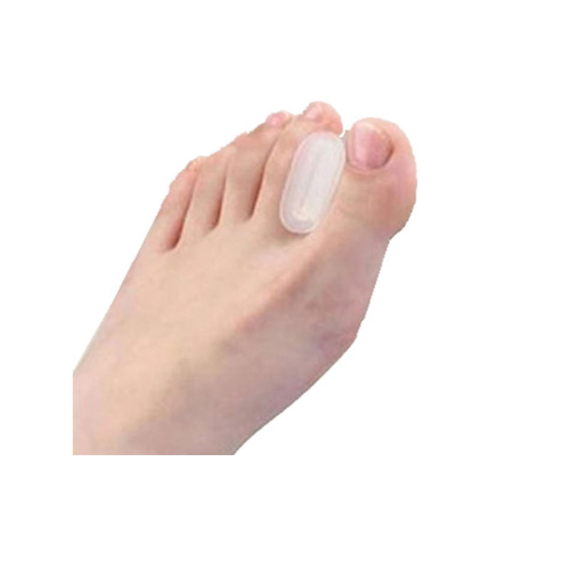 2pairs Silicone Toe Gel Hallux Valgus Relief Pain And Correction Toe Separator Bone Thumb Foot Massager(China (Mainland))