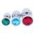 DOMI 3 Большие, средние и малые металл пробка анальная шарики стимулятор анальная пробка