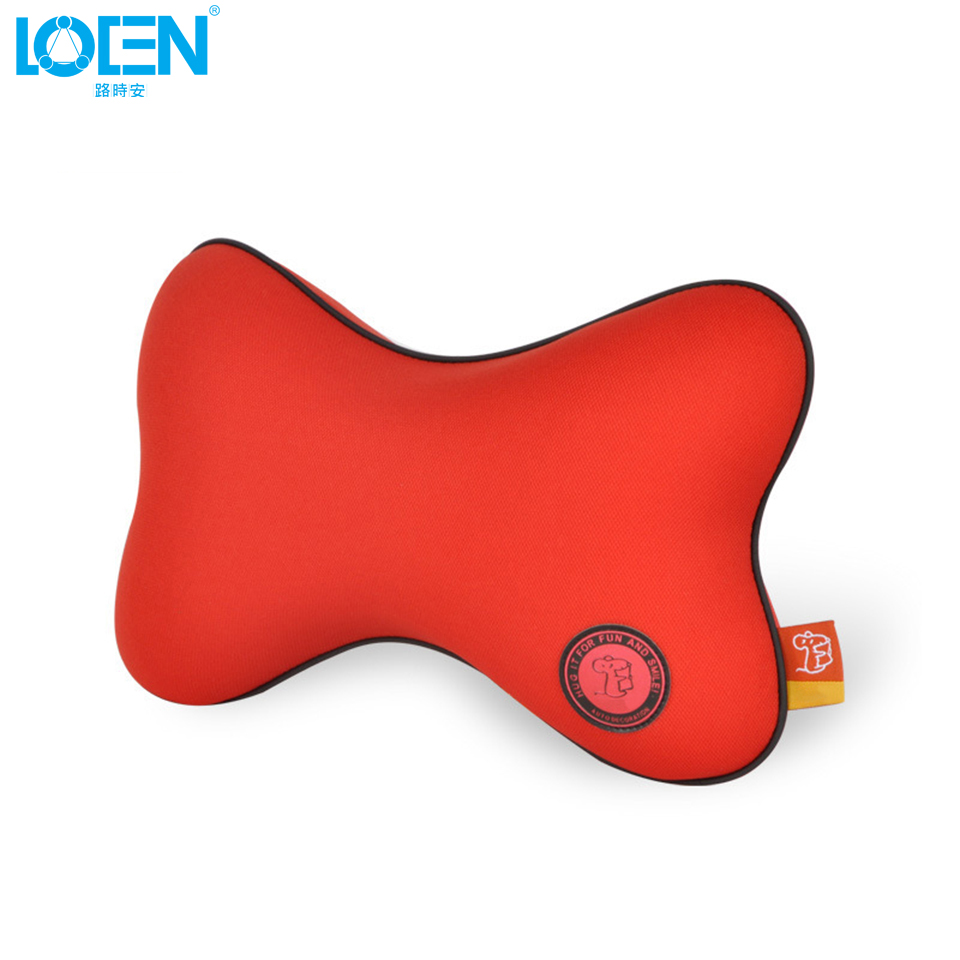 Quality Assurance Car Neck Pillow Headrest Seat Cushion Space Memory Fabrics Soft Small Holes Breathable Car Pillow Seat Cover(China (Mainland))