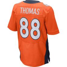 Men's #58 Von Miller Jerseys Adult #18 Peyton Manning 12 Paxton Lynch 88 Eemaryius Thomas Navy Blue Orange Elite Jersey Stitched(China (Mainland))