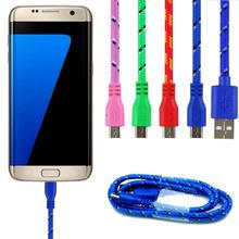 Buy Micro USB Cable Nylon 3M Mobile Phone Cabel Data Cable Data Sync Charger Charging Cable Samsung for $1.30 in AliExpress store