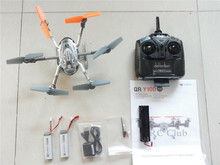 Original Walkera QR Y100 5.8Ghz FPV Hexacopter Drone Helicopter with Camera DEVO 4 Transmitter(In Stock)