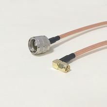 Увч вилочная часть вилка коннектор переключатель SMA соединение вилочная часть вилка прямой угол коннектор RG142 50 см 20 » адаптер низкая — ослабление