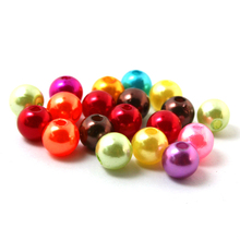 Pick 15 color 8mm ABS Imitation Pearl beads Round Plastic Beads 130pcs/lot for Necklace and Bracelet DIY Making (BSG01-03)(China (Mainland))