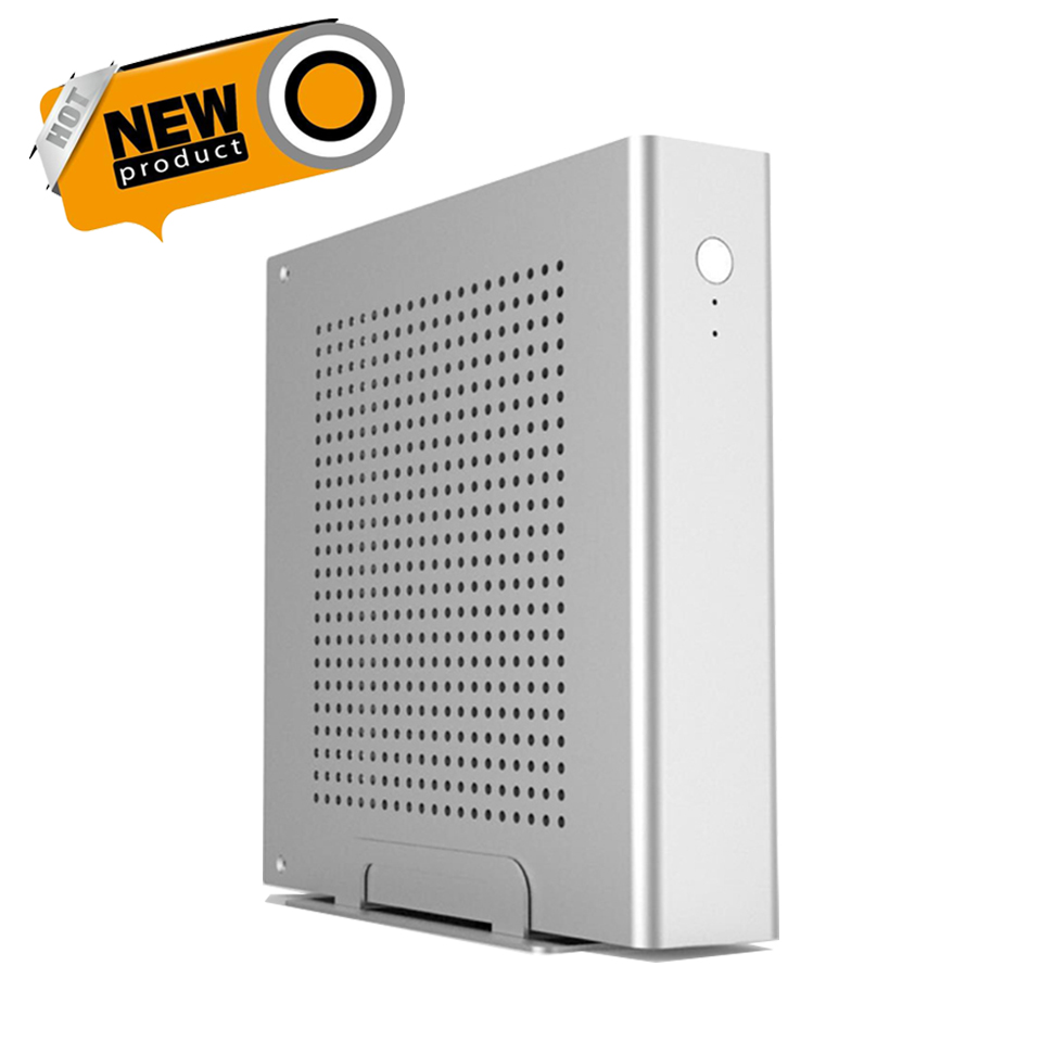 Free Shipping! Mini Tower Full Aluminum Case Supports 170*170(mm) mini ITX Motherboard, 1*2.5' HDD/SSD Dimensions 200*200*45(mm)(China (Mainland))