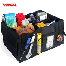 Auto Supplies Car Back Folding Storage Box Multi-Use Tools Organizer Car Portable Storage Bags Black(China (Mainland))