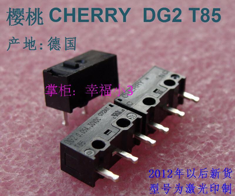 Authentic German DG2 T85 mouse micro switch DG4 DG1 DG2 white spots black gray dot dot(China (Mainland))