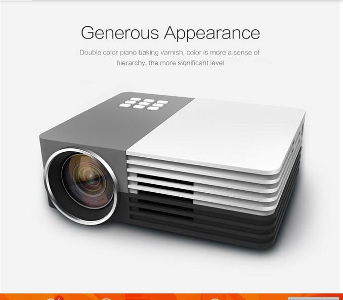 Rd805 best full hd 1080p mini projector business portable for Best hd pocket projector