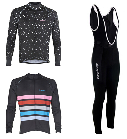 2015 Danny shane new coming long cycling jersey or long pant with pad men's bike mountain cycling clothes for spring or autumn(China (Mainland))