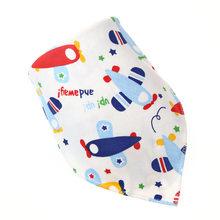 5 piezas de algodón bebé Baberos de alimentación infantil toalla Baberos de bebé recién nacido niños niñas niño bufanda triángulo Bandana accesorios de bebé paño del Burp(China)