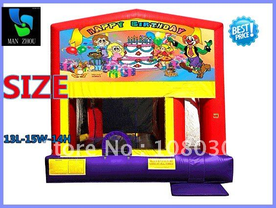 free shippinginflatable jump-O-lene ring bouncer kids bouncer13L-15W-14H inflatables 5days of delivery(China (Mainland))