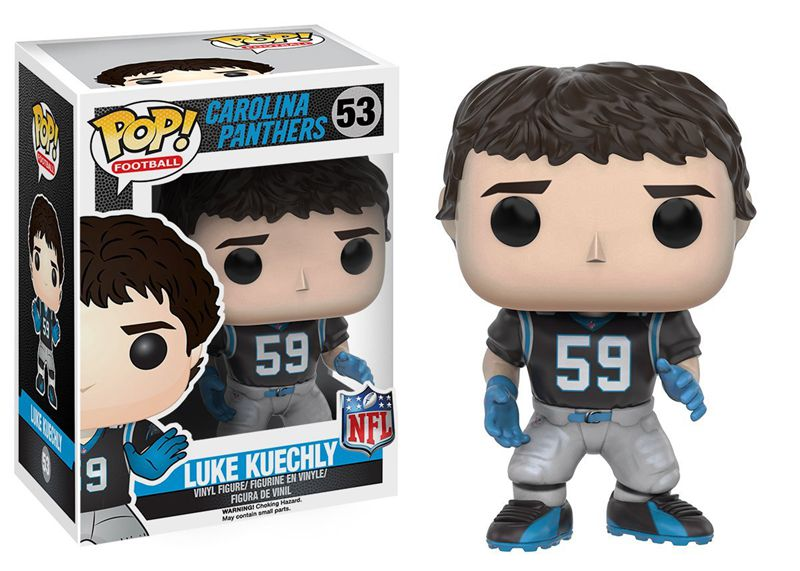 Funko pop Official NFL: Wave 3 - Luke Kuechly Vinyl Action Figure Collectible Model Toy with Original Box(China (Mainland))