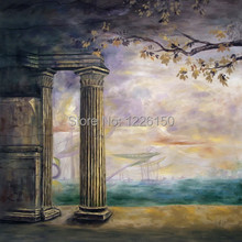 New Professional10ft x 10ft wedding hand painted scenery background backdrop FSE7 ,photo studio backdrop,photo background muslin
