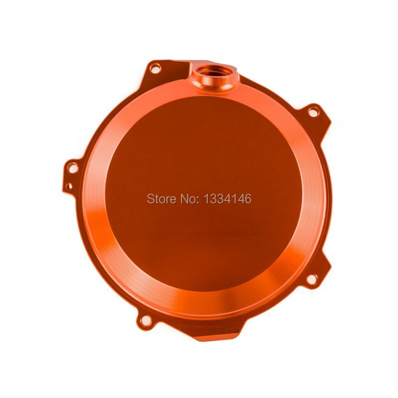 Orange Billet Engine Outside Clutch Cover For KTM 250/350 SX-F EXC-F 350 XCF-W 2013 2014 2015