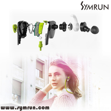 Symrun  Sports Bluetooth Stereo Wireless Bt4.1 Earphones For Outdoor Sports Bluetooth Wireless Headset(China (Mainland))