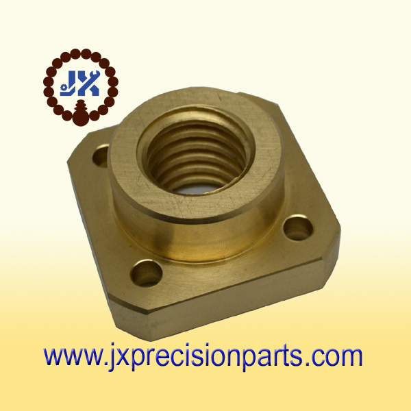 Brass precision parts Custom machine parts Brass turning parts(China (Mainland))