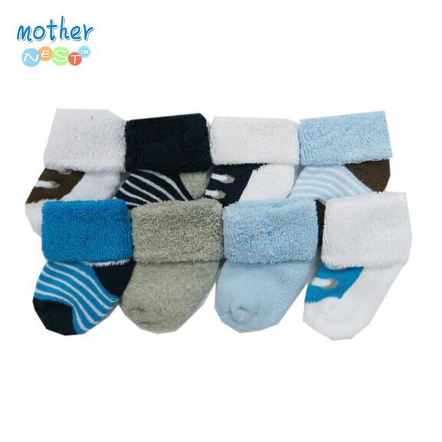 8 пара/лот Бесплатная Доставка США Luvable Друзья Хлопок Высокого Качества Детские Носки девочка и мальчик socks.0 ~ 3 месяцев