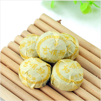 Mini Pu Er Chrysanthemum Raw Tea Weight Loss Products hinese Yunnan Ripe Puerh China Health Care