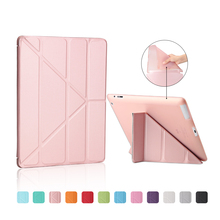 Ultra Thin Stand Design PU Leather case for ipad 3 4 2 Cover Colorful Flip Smart Cover Smart cover for iPad4 Table Case(China (Mainland))