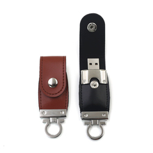 High Quality Genuine Leather Pen drive USB 2.0 usb flash drive memory stick with Car / Key Chain 64gb 32gb 16gb 8gb 4gb(China (Mainland))